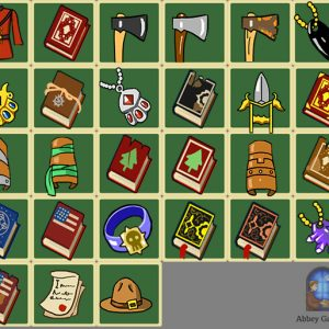 A collection of items I designed for the game Renowned Explorers by Abbey Games.  I used the item alignment to allow the player to differentiate between the different item types.